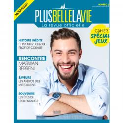 Revue Officielle Plus belle la vie - Numéro 3 - juin / juillet / aout 2019