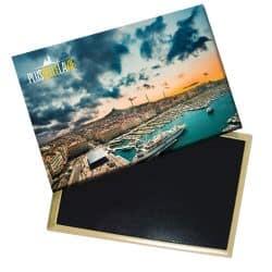 Magnet Plus Belle La Vie Photo Ciel Nuageux et port
