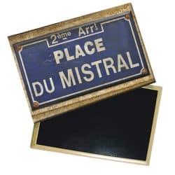 Magnet Plus Belle La Vie Plaque de Rue Place du Mistral