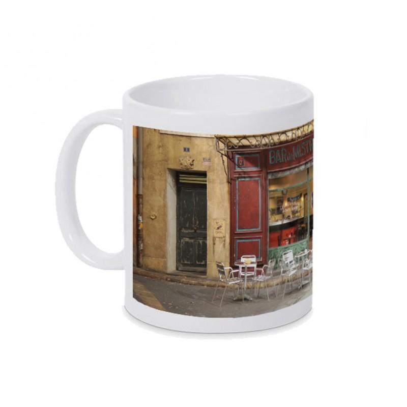 Mug Photo Bar du Mistral Gris Plus Belle La Vie