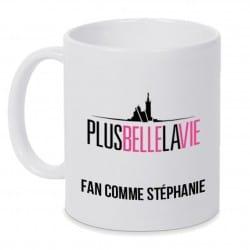 Mug personnalisé Plus Belle La Vie
