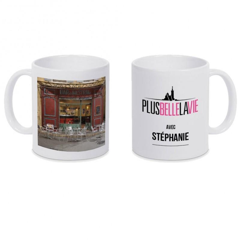 Mug personnalisé Bar Mistral Plus Belle La Vie